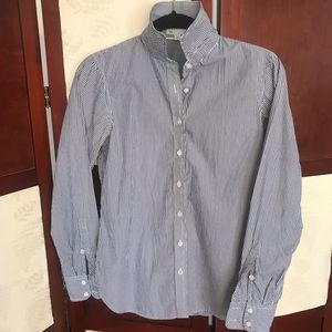 Gap Fitted Striped Dress Shirt